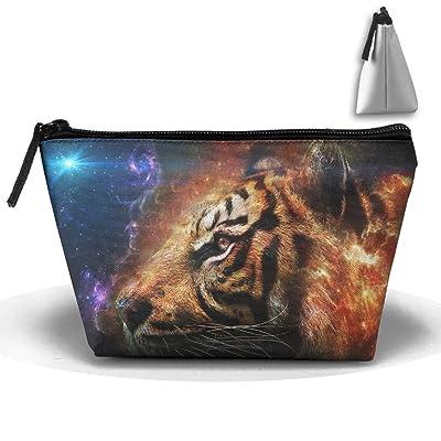 MASDUIH Tiger Head Hand Bag Pouch Portable Storage Bag Clutch Handbag