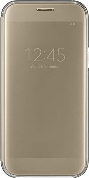 Samsung Galaxy A5 2017 (A520) Clear View Cover - Gold