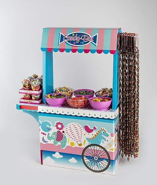 Candy bar Cupcakes La Asturiana - Mesa Dulce con 6 Kilos de Diferentes Golosinas y 2 Cajas ...