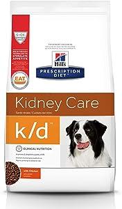 Hill's Prescription Diet Dry Dog Food, Veterinary Diet, k/d Kidney Care, Chicken
