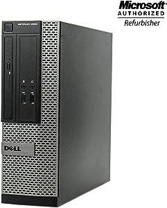 Dell Optiplex 3020 SFF Business Desktop PC - Intel Core i7 4th Gen 3.4 GHz, 8GB RAM, 512GB SSD, DVD-ROM Drive, Keyboard, Mouse, WiFi, Windows 10 Professional(Renewed)