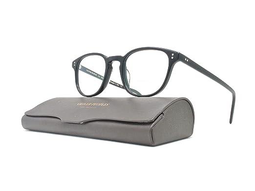 3eff201f49c Amazon.com  Oliver Peoples - Fairmont - 5219 47 - Eyeglasses (BLACK ...