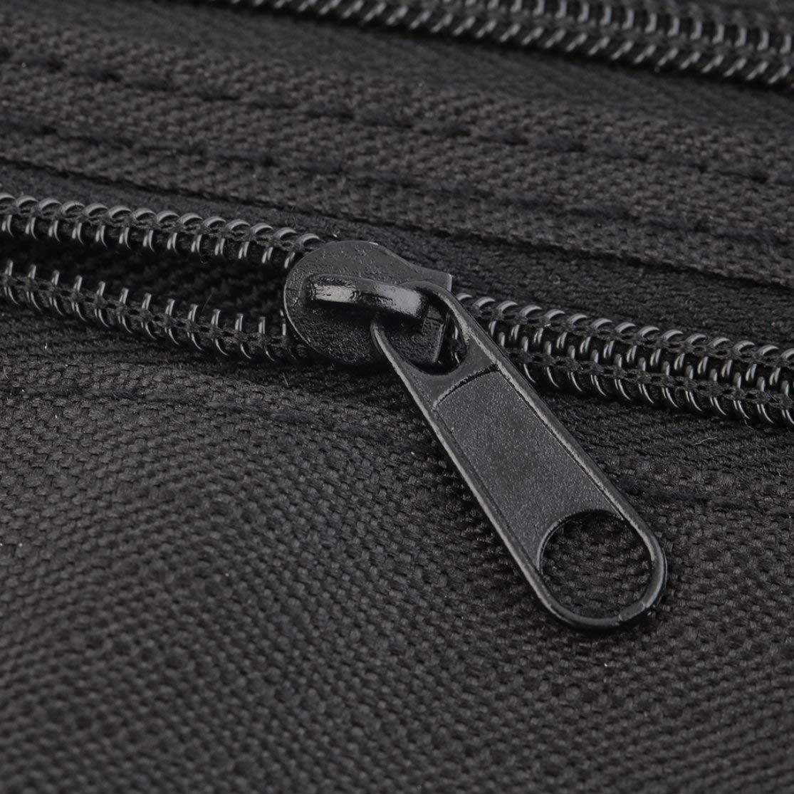 LouiseEvel215 Unisex Compact Cash Reisepass Ticket Rei/ßverschlusstasche Sicherheitsgurt Taschen mit elastischem verstellbarem Gurt Sicherheit G/ürteltasche