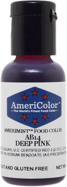 Airbrush AmeriColor AmeriMist Colores DEEP PINK 19ml