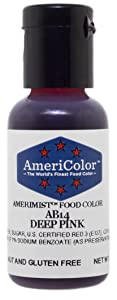 AmeriColor AmeriMist Deep Pink Airbrush Food Color, .65 oz.