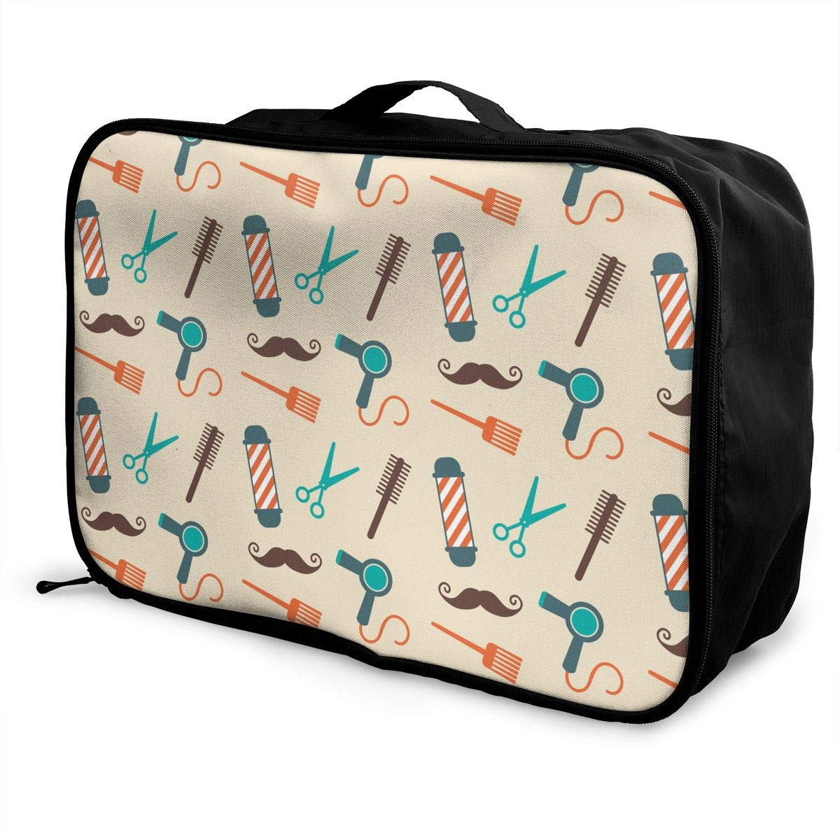 Travel Fashion Lightweight Large Capacity Duffel Portable Waterproof Foldable Storage Carry Luggage Tote Bag Barber Tools