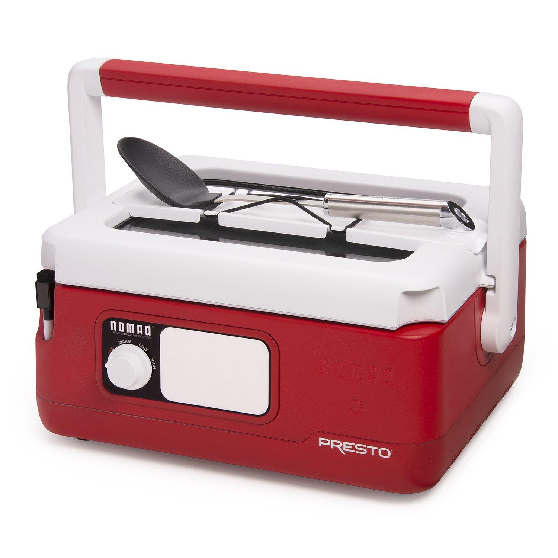 Presto 06011 Slow Cooker, Red