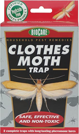 NO INSECTICIDES Details about  /PREMIUM CLOTH MOTH TRAP PROTECT SAFE AND EFFECTIVE