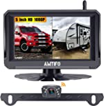 AMTIFO A6 HD 1080P Digital Wireless Backup Camera Kit with Stable
