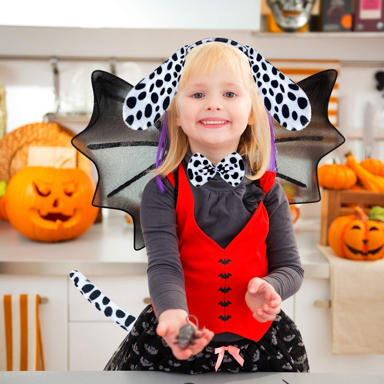 BABYPREG Kids Dalmatian Headband Fancy Mouse Tiger Animals Cosplay Halloween Costume