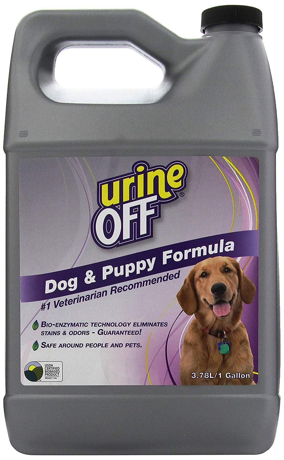 Urine Off Odor and Stain Remover Dog Formula, 1 Gallon by urineOFF