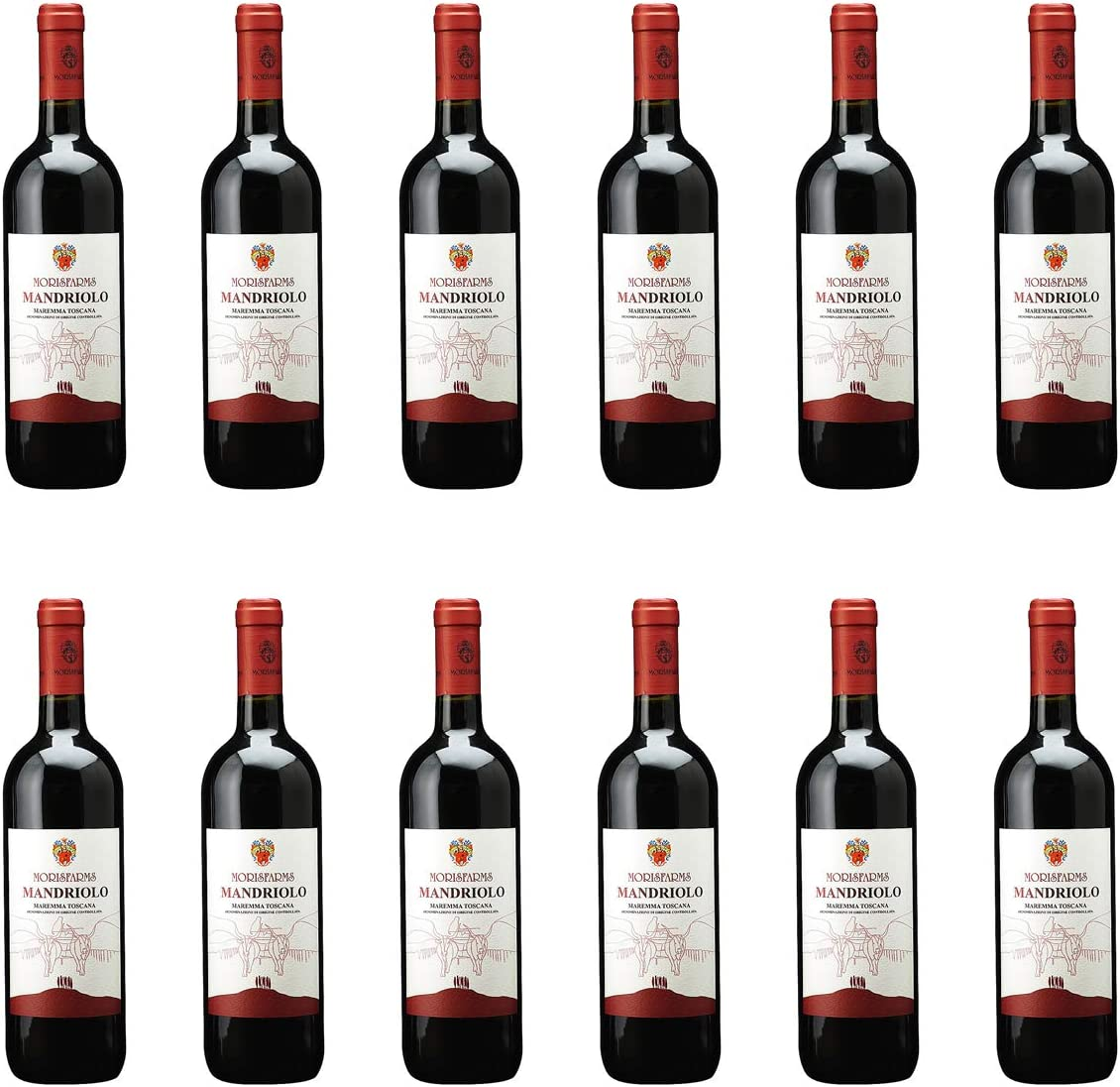 [ 12本 まとめ買い ] マンドリオーロ (モリスファームズ) / 2016年 イタリア 赤ワイン ミディアムボディ 750ml×12本