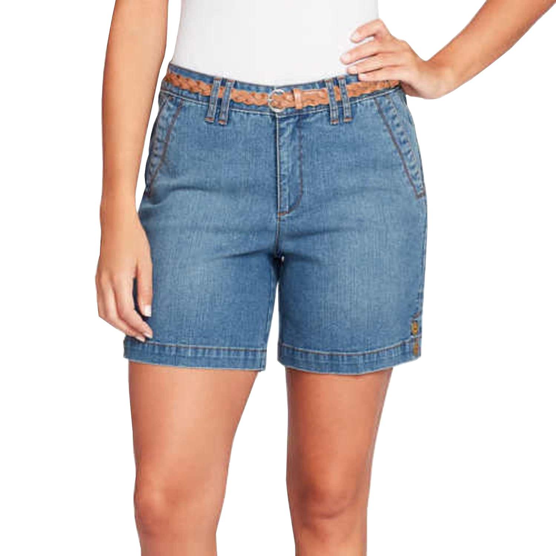 Gloria Vanderbilt Womens Violet Shorts