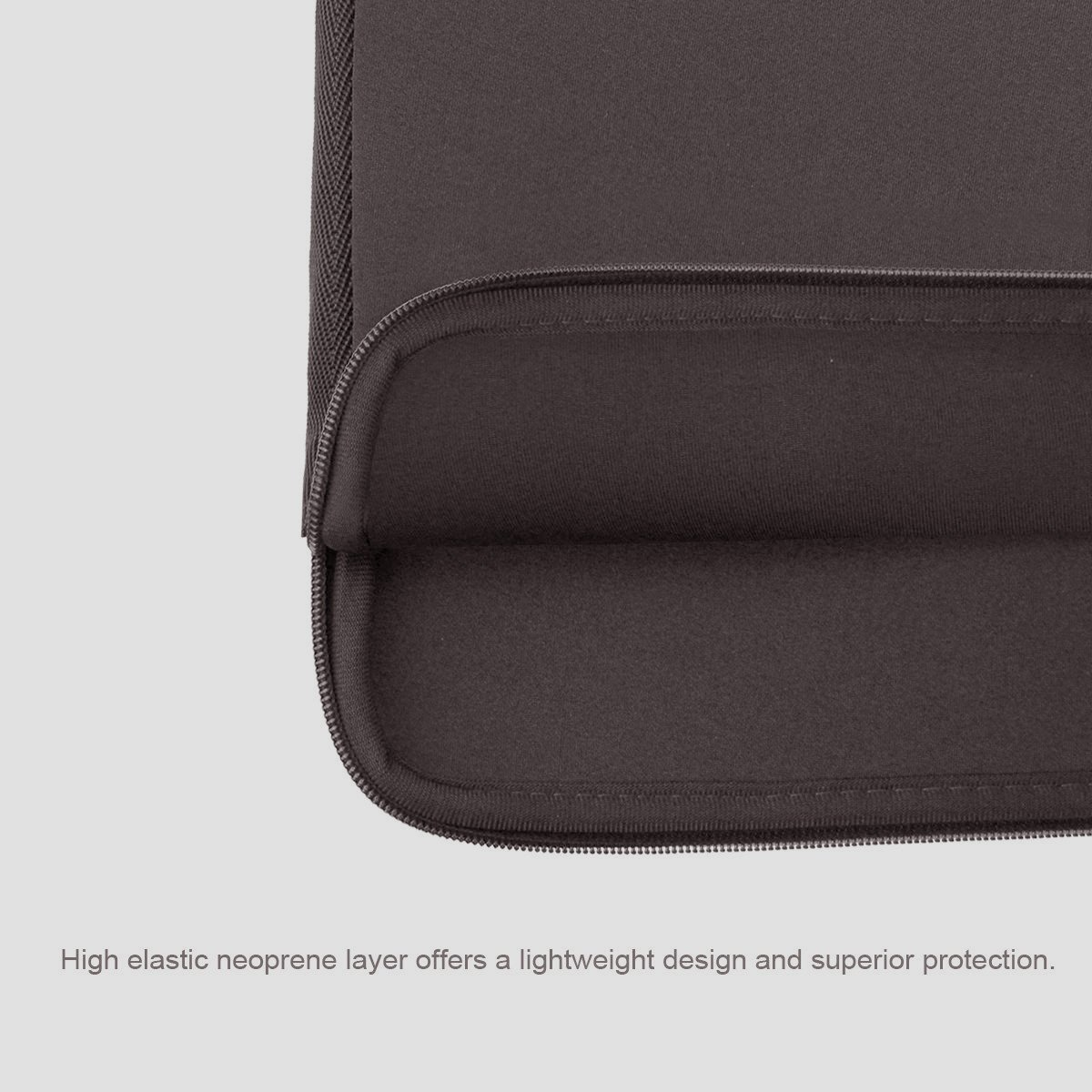 Arvok 15 15,6 Pollici Sleeve per Laptop//Impermeabile Custodia di Neoprene Borsa//Caso Protettiva//Borsa da Trasporto per MacBook//Acer//dell//Lenovo//HP//Samsung//Sony//Toshiba//Ultrabook