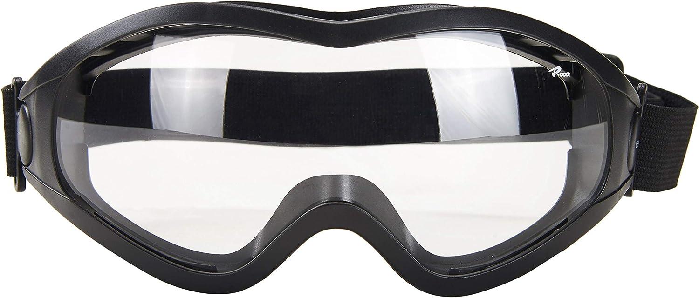 Babimax - Gafas protectoras unisex de seguridad sobre gafas transparentes antiniebla, anti impactos para conducción al aire libre, a prueba de polvo, a prueba de arena, protección antiquímica.