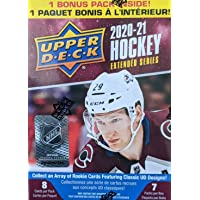 $21 » 2020 2021 Upper Deck Hockey EXTENDED Series Factory Sealed Unopened Blaster Box of Packs Possible Young Guns Rookies and…