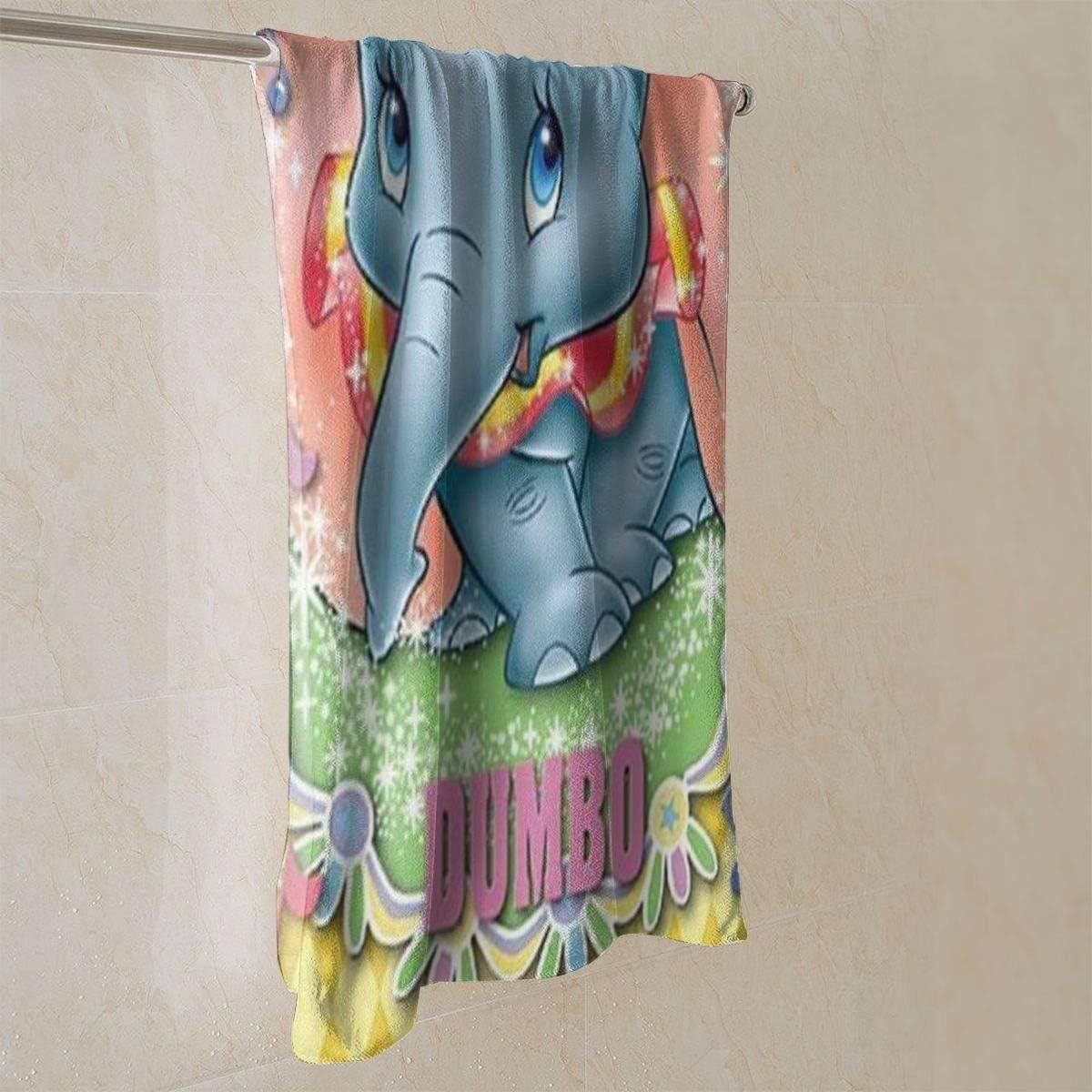 QHMY Asciugamani Beauty Dumbo Asciugamano Morbido e Assorbente Ideale per luso Quotidiano 27,5 X 17,5