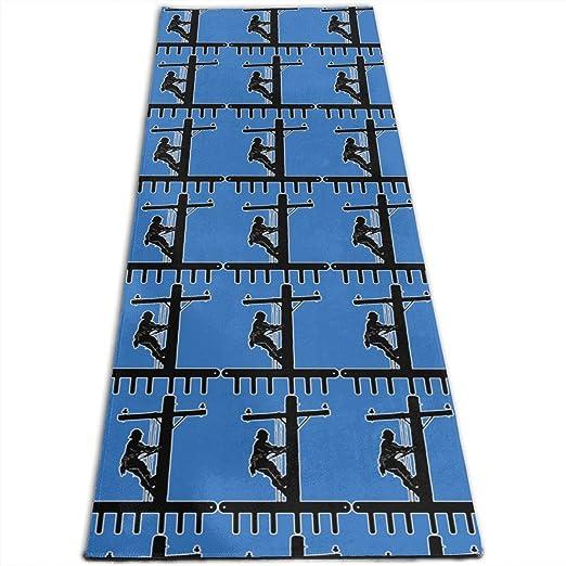 Traci Kroll Colchoneta de Ejercicios para Yoga, colchoneta ...