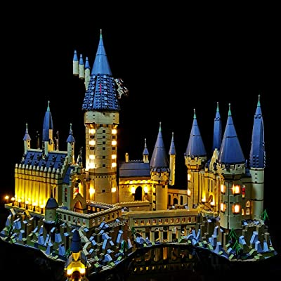 WOLFBSUH USB Powered LED Light Building Block Modified Kit for Lego Harry Potter Hogwarts Castle 71043 (LED Included Only, No Lego Kit): Toys & Games [5Bkhe1000747]