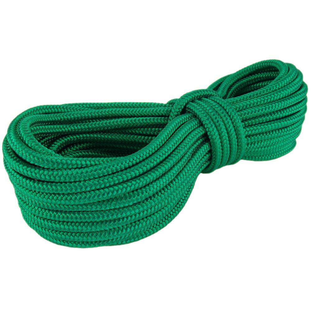 PP Seil Polypropylenseil SH 16mm 50m Farbe Grün (0117) Geflochten