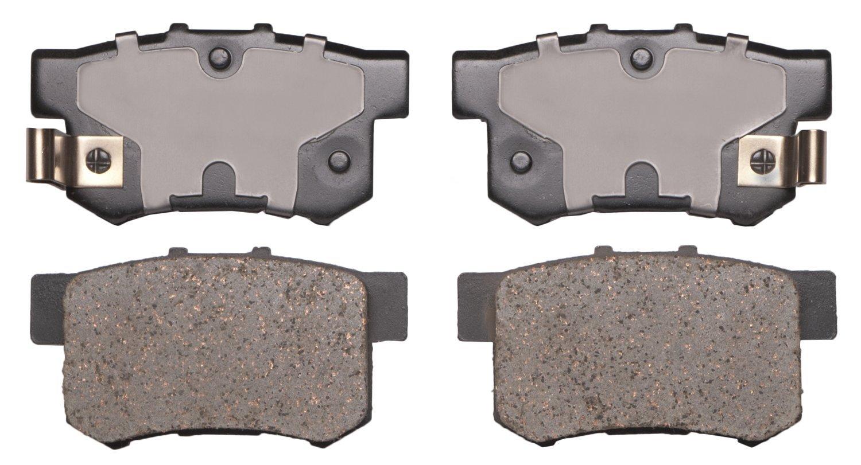 ADVICS AD0537 Ultra-Premium Rear Disc Brake Pad Set