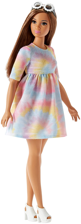 Barbie Fashionista, Muñeca Tie-Dye, Juguete +7 años (Mattel FJF42): Amazon.es: Juguetes y juegos