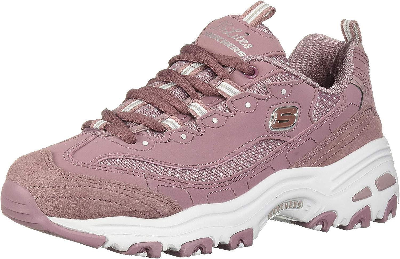 Amazon Com Skechers Women S D Lites Polka Nite Walking