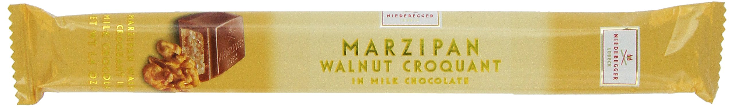 Niederegger Marzipan Stick Walnut, 1.4-Ounce (Pack of 8)