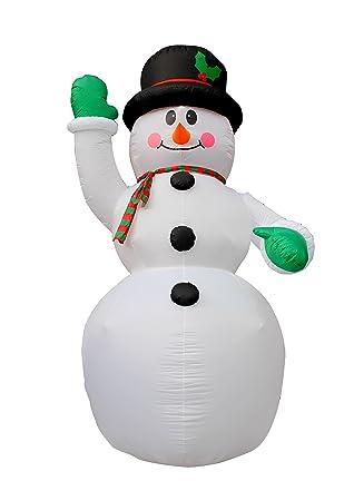 Bestparty 13 Ft Weihnachten Aufblasbarer Riesen Schneemann Weihnachten Yard  Dekoration