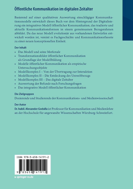 Öffentliche Kommunikation im digitalen Zeitalter: Grundlagen und ...