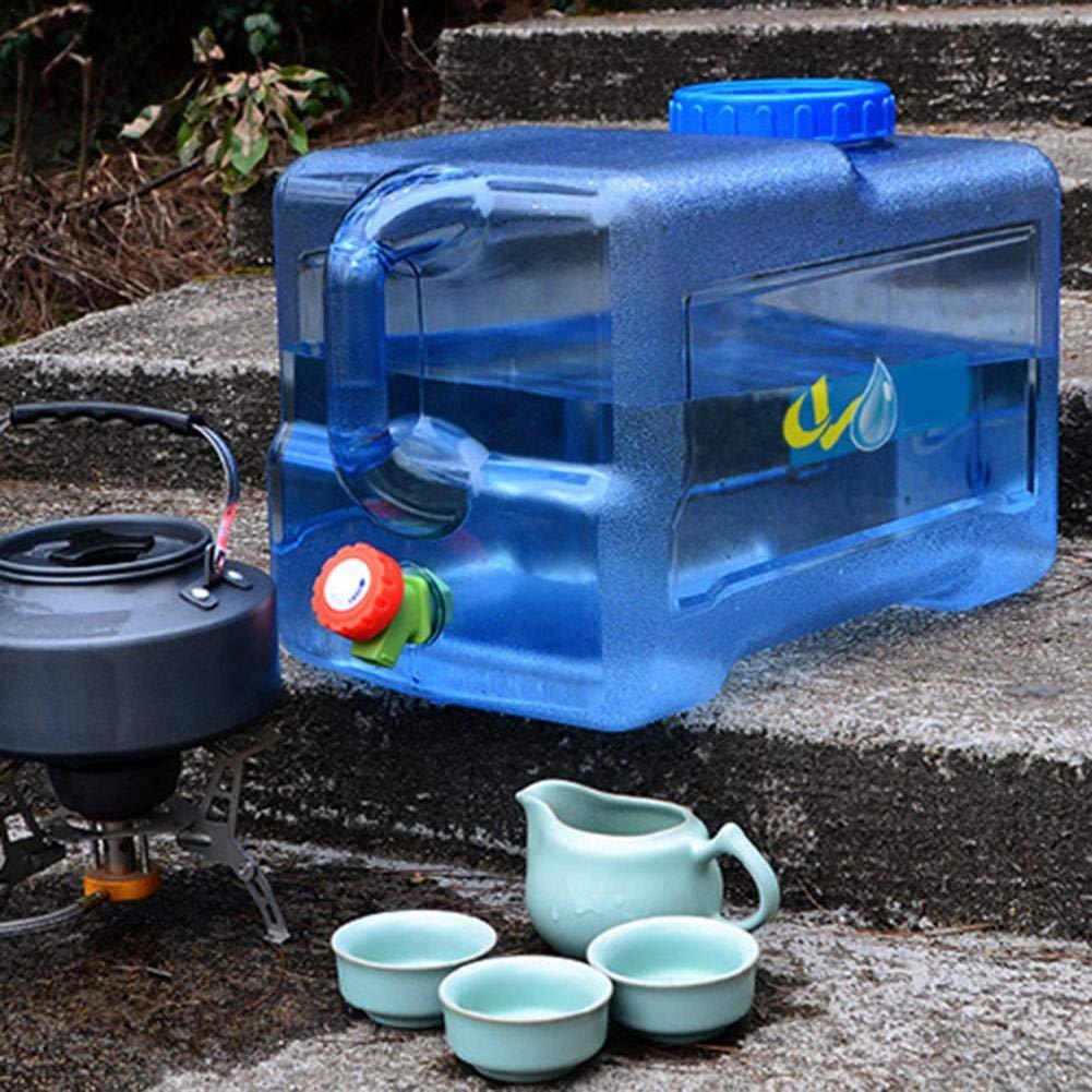 Contenedor De Agua para Camping Port/átil ZY123 Contenedor De Agua para Camping Port/átil De 25L con Grifo Contenedor De Almacenamiento De Agua No T/óxica Y Grande Capaci Segura