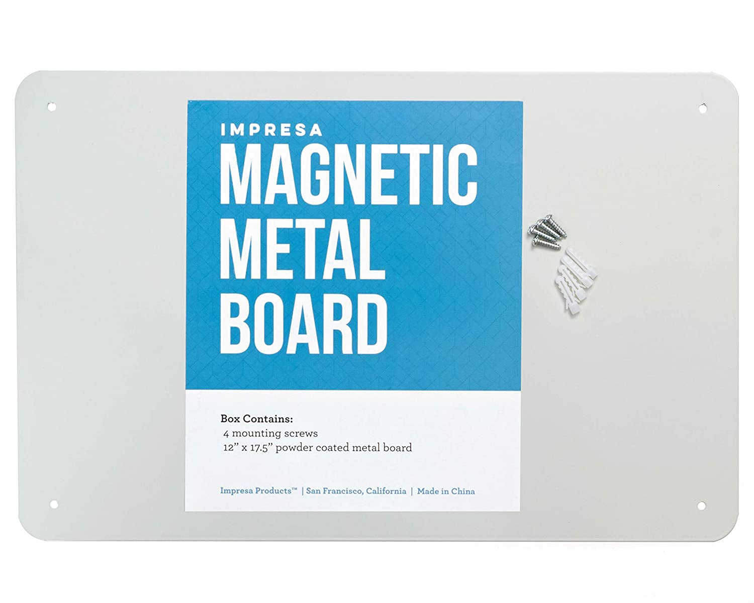 If you're looking for more ways to help organize your life, try organizing with magnets. It's easy to buy magnetic metal boards and canisters to help organize any room in the house.
