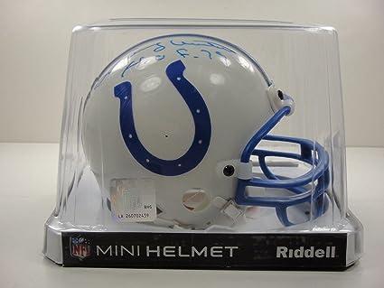 84582299b00 Johnny Unitas Autographed Mini Helmet - Hof 79 Certified - JSA Certified - Autographed  NFL Mini