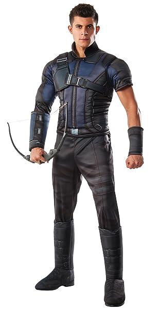 Amazon.com: Adult Captain America Civil War Deluxe Muscle ...