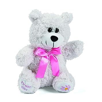 Amazon Com Fun Express 8 Plush Flower Girl Bear Wedding Party