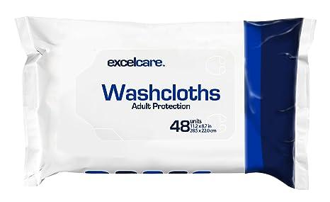 Toallitas desechables paños por excelcare – adultos para incontinencia – secado rápido baño. Keep en