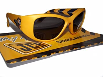 b17444aeed JCB My First Sunglasses Young Boys Kids 100% UV Protection Summer Holiday  Sunglasses