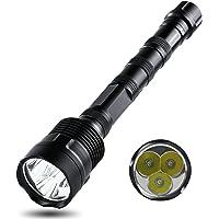 GuDoQi Luz de La Antorcha del LED 2000 Linterna de Los Lúmenes CREE T6 LED 5 Modos Ligeros para Acampar, Ir de Excursión, Ciclo y Uso de La Emergencia