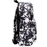 FL Women's Canvas Palm Tree Backpack Travel Bag
