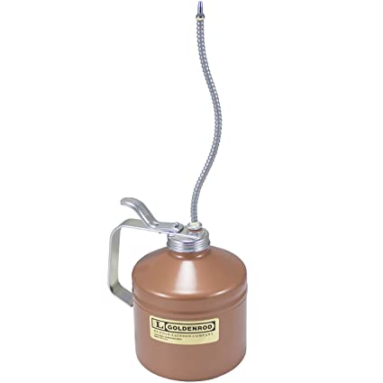 Heavy Duty Pump Oiler with Angle Spout 55809 GOLDENROD 55809