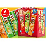 Pringles Assorted Variety Flavour Combo Pack, [ 6 Assorted Flavours, Party Pack]