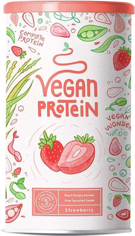 Proteina Vegana | FRESA | Proteína vegetal de arroz, guisantes, semillas de lino, amaranto, semillas de girasol y semillas de calabaza germinadas | ...
