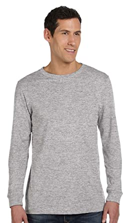 01cbb5b2871ac Bella + Canvas - Unisex Jersey Long Sleeve Tee - 3501-3XL - Athletic Heather