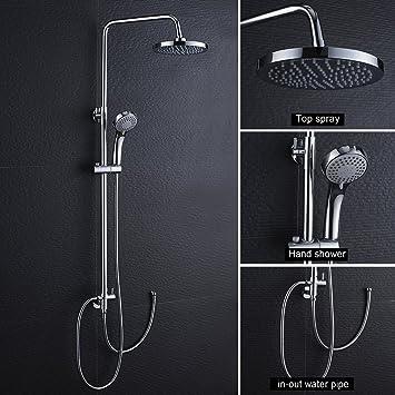 Edelstahl Duschsystem Duscharmatur Regendusche Brausearmatur Duschset Dusche