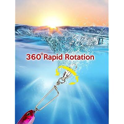 50 Or 25 Pcs Ball Bearing Swivel Coastlock Snap Clasp Assortment Solid Welded Ri