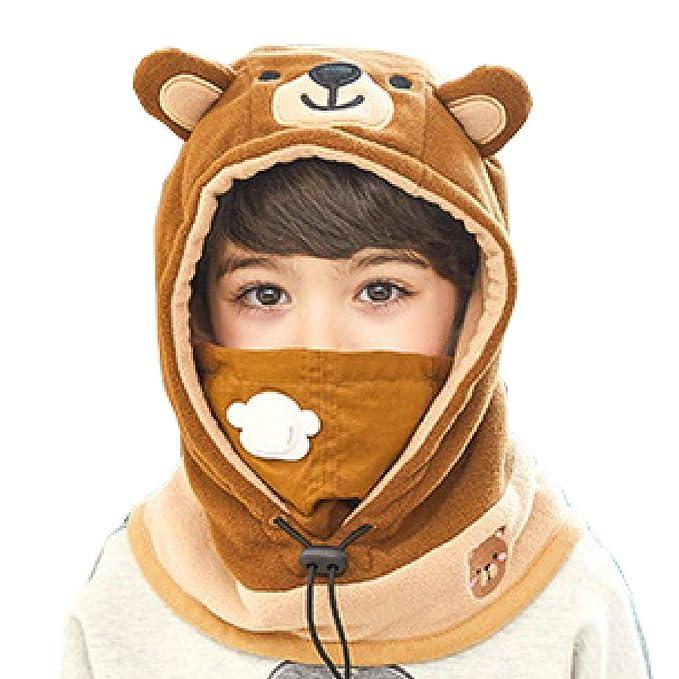 791dc4f9d3c Azarxis Kids Balaclava Ski Mask Full Face Caps Hat Hood Fleece Windproof  Winter Wear Gear for