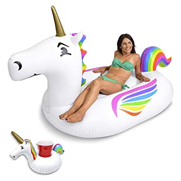 gofloats gigante hinchable de unicornio con Bono Unicorn ...