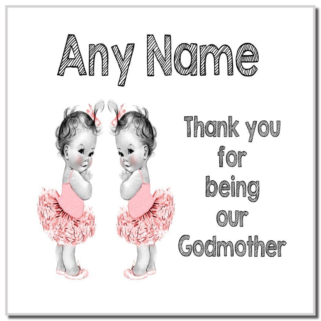 Godmother Coaster FREE PERSONALISATION