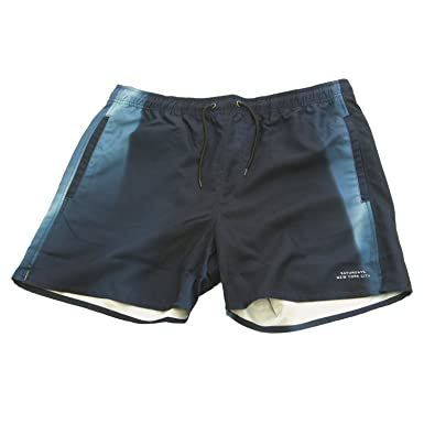 2d11ff1ea5 Saturdays NYC Men's Timothy Swim Trunks Small Navy Prism | Amazon.com