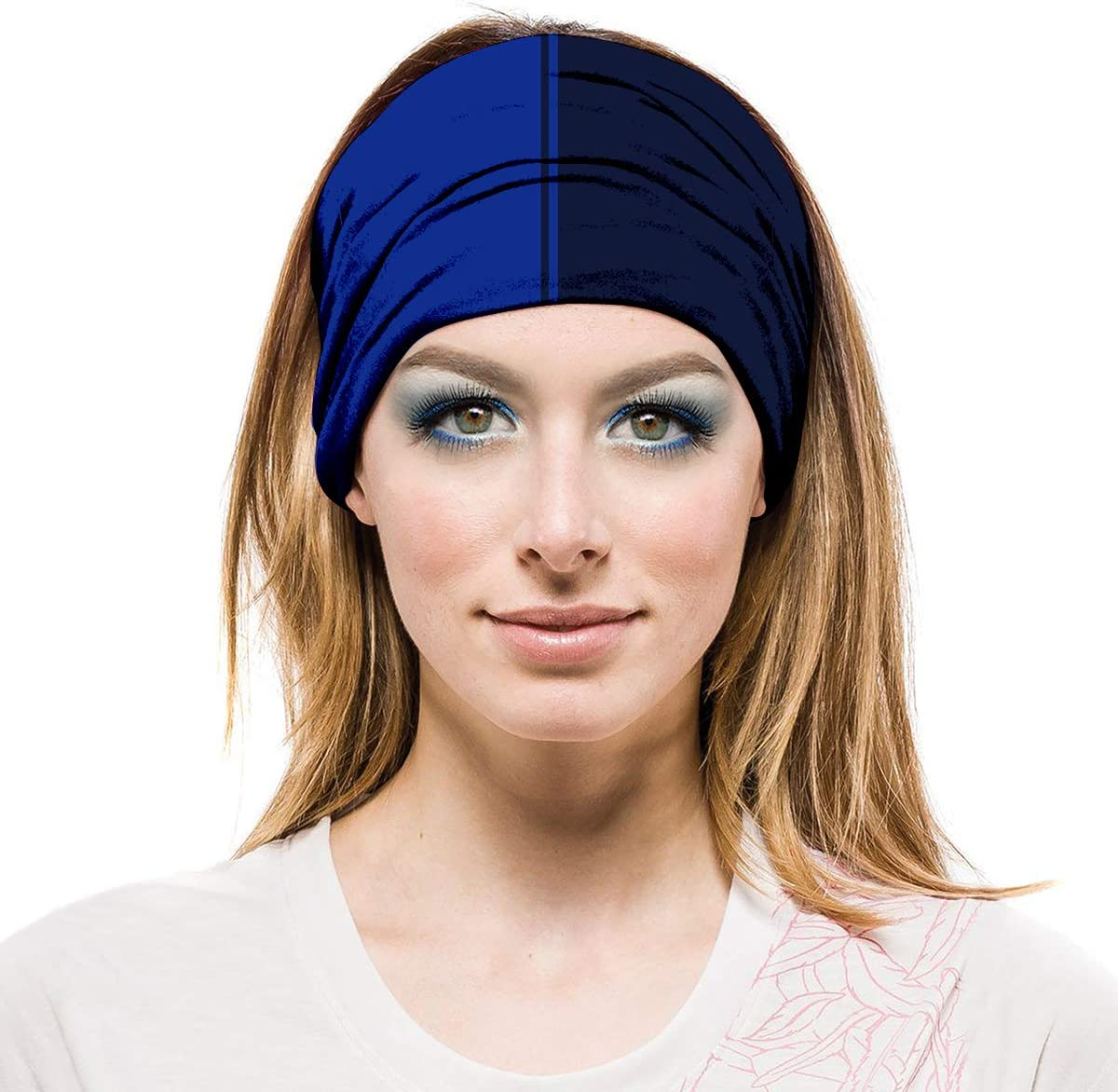 AXBXCX Sport Headband Seamless Face Mask Stretch Moisture Wicking for Women and Men